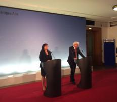 Vorstellung im Auswärtigen Amt mit Außenminister Frank-Walter Steinmeier