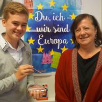 """Adrian Hillebrand Preisgewinner """"Du ich wir sind Europa"""""""