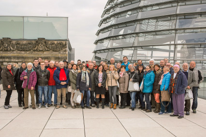 Reisegruppe in Berlin