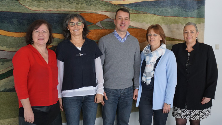 Bärbel Kofler besucht Agentur für Arbeit Traunstein