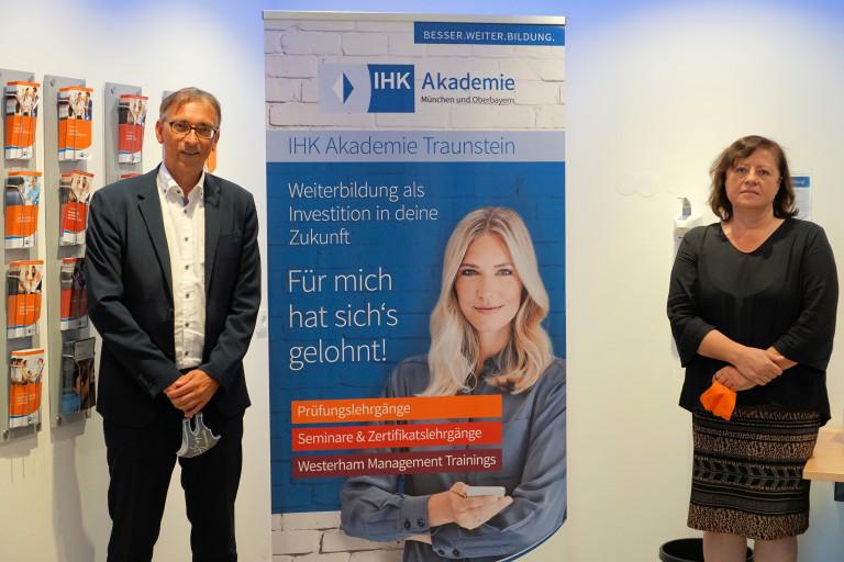 Besuch bei der IHK in Traunstein