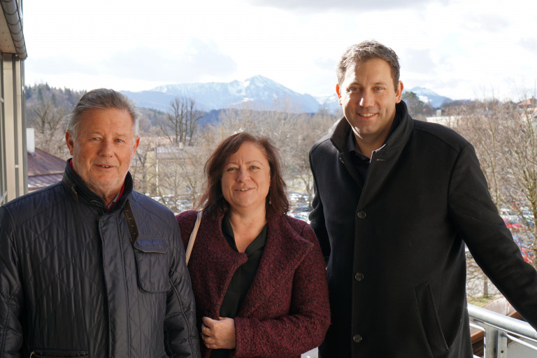 Lars Klingbeil im Wahlkreis