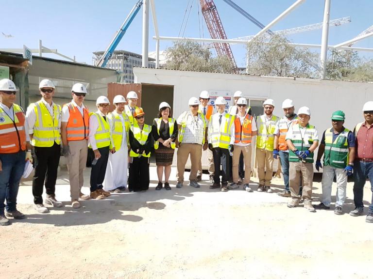 EXPO 2020 Baustelle Dubai