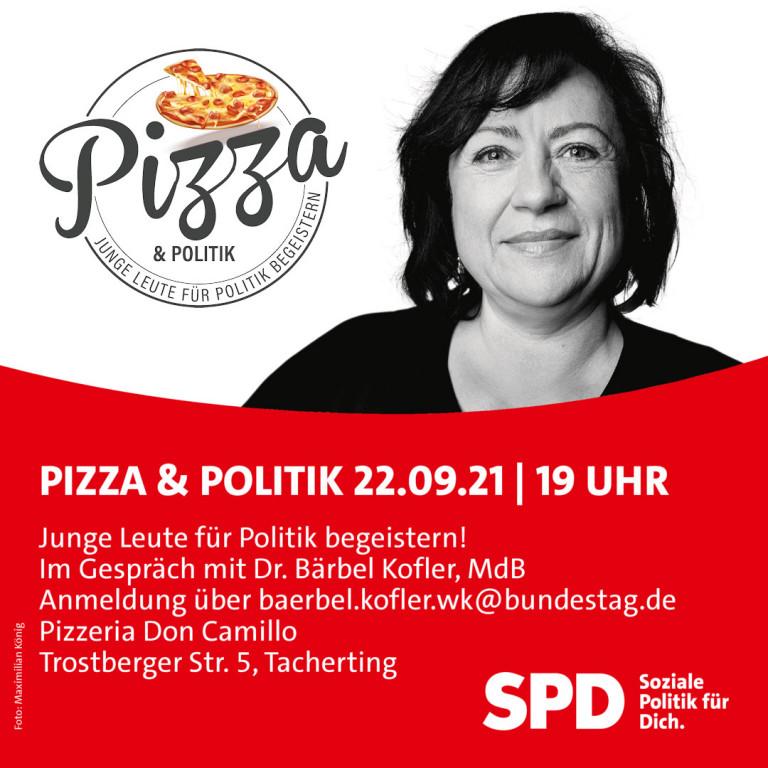 Pizza und Politik in Tacherting