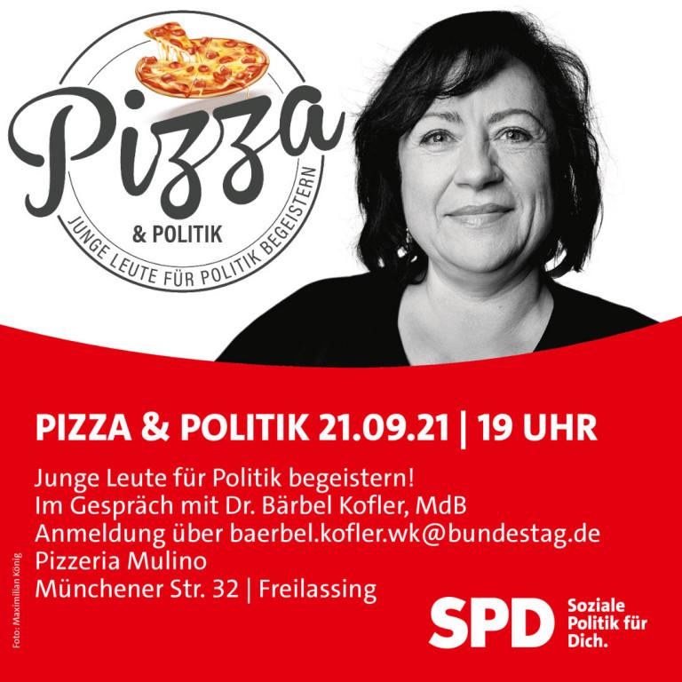 Pizza und Politik Freilassing