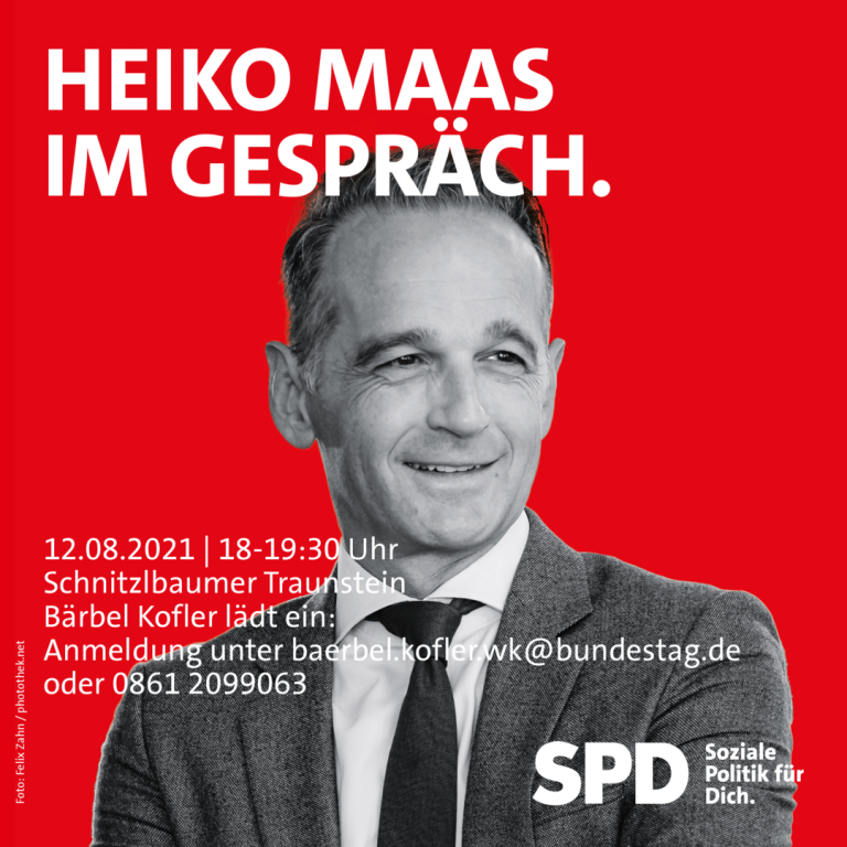 Heiko Maas Im Gespräch